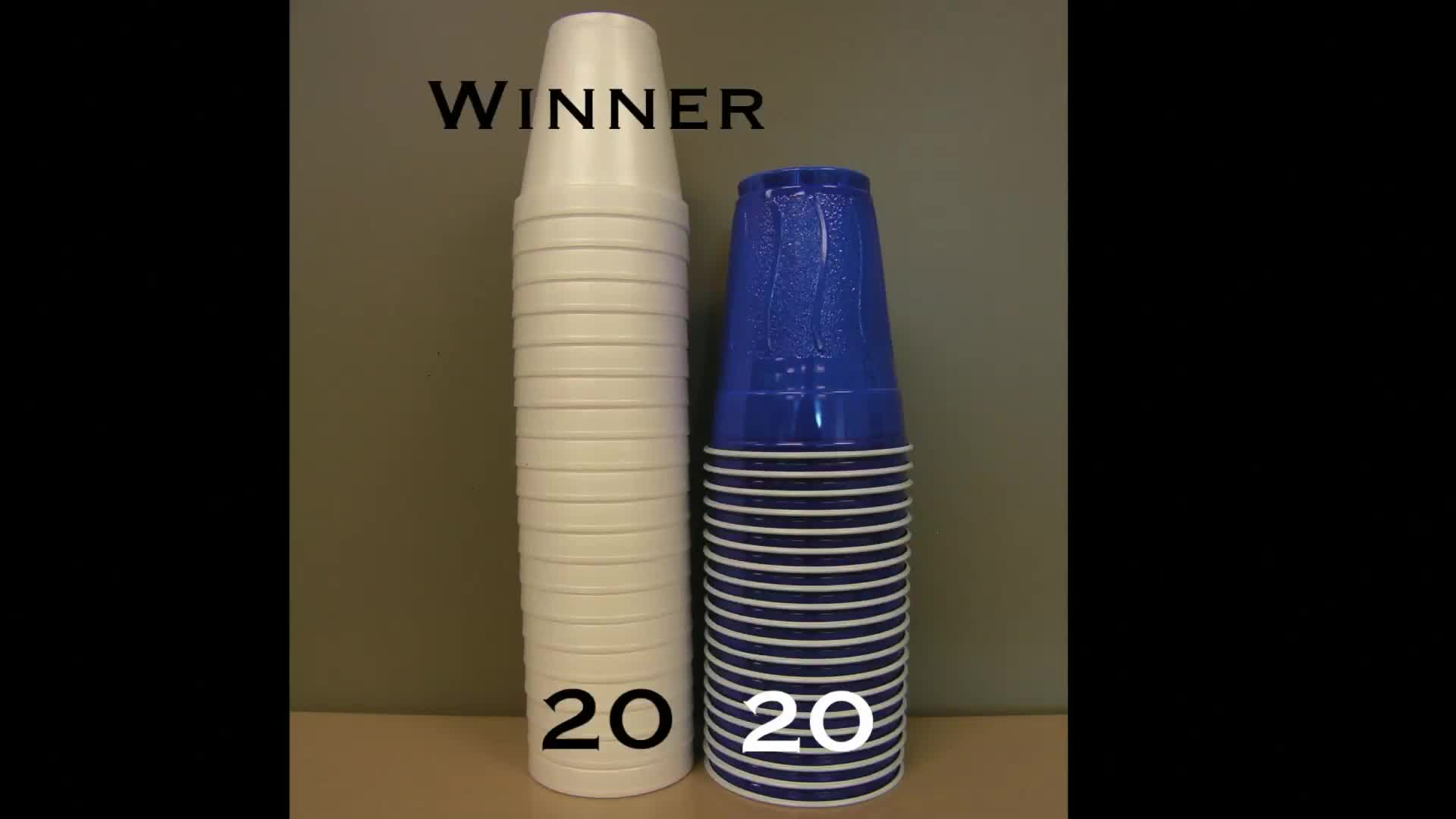 Stacking Cups - Act 1
