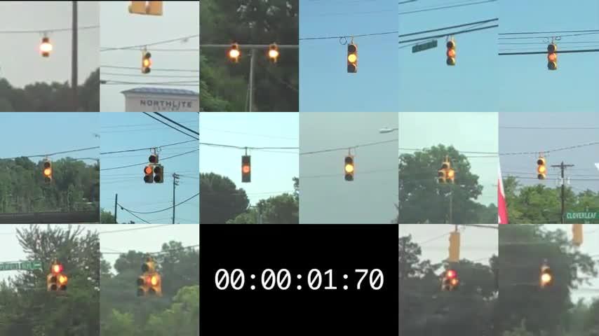 Short Yellow Lights