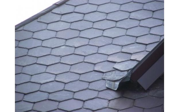 Hexagonal Roofing Tiles.