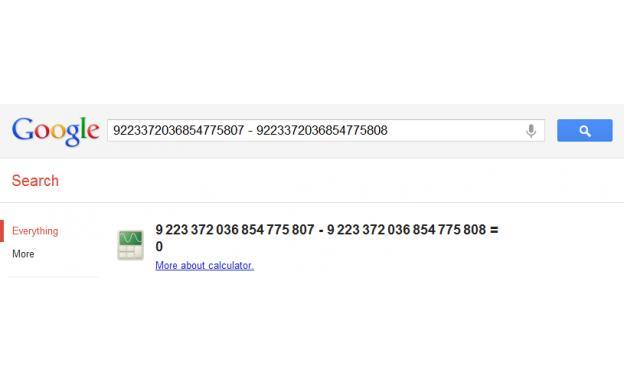 Google Calc Error