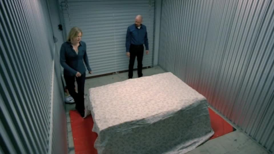 Breaking Bad Storage stash