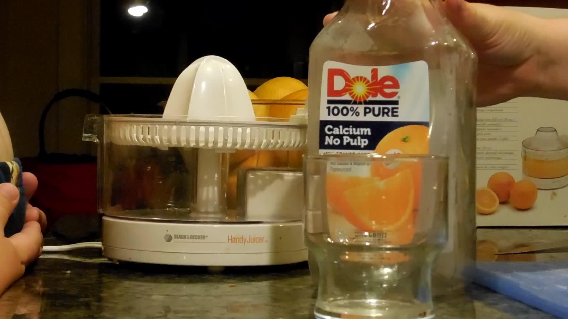Want some orange juice?