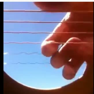 iphone in guitar oscillations
