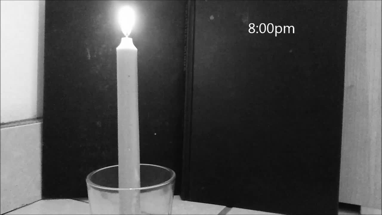 The Melting Candle