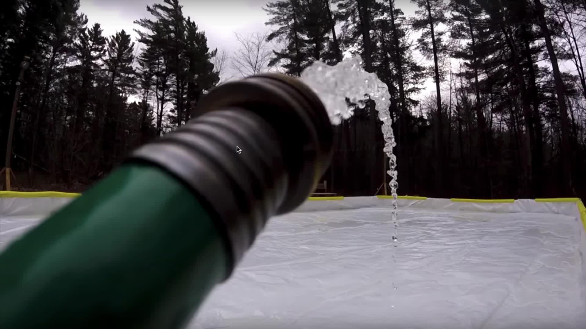 Create a Hockey Rink!