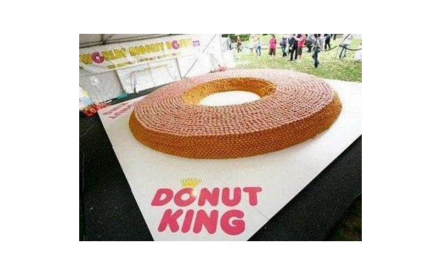 One Huge Donut