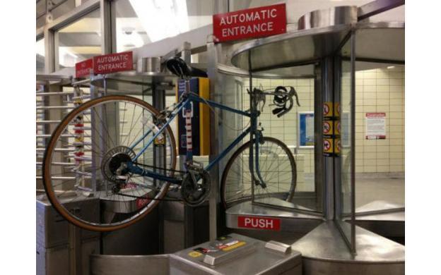 Bike turnstile