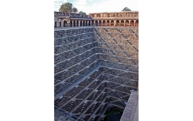 Stepwell in Rajasthan, India
