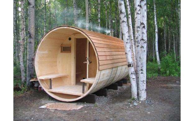 Small Cylindrical House