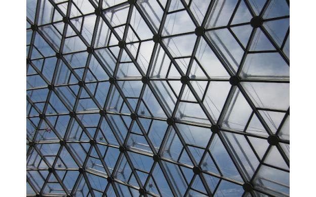 Geodesic Dome at MO Botanical Gardens