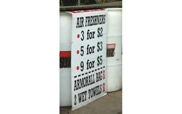 "Air ""Freshners"""