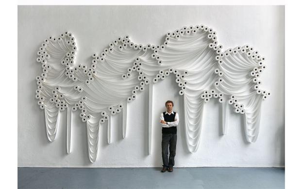 Toilet Paper Art