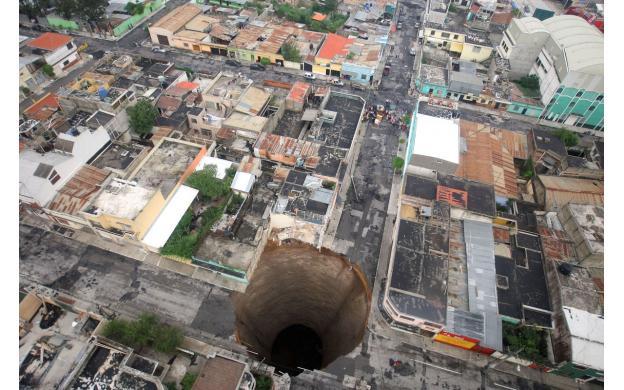 2010 Guatamalan Sinkhole