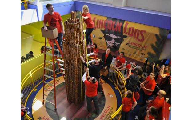 Lincoln Log World Record