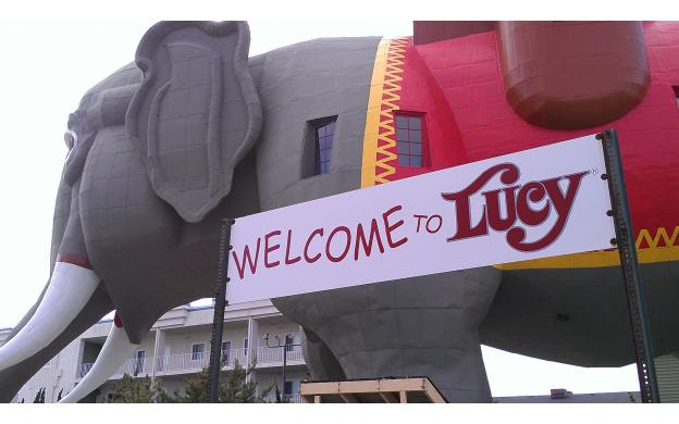 Lucy The Elephant, Margate, NJ