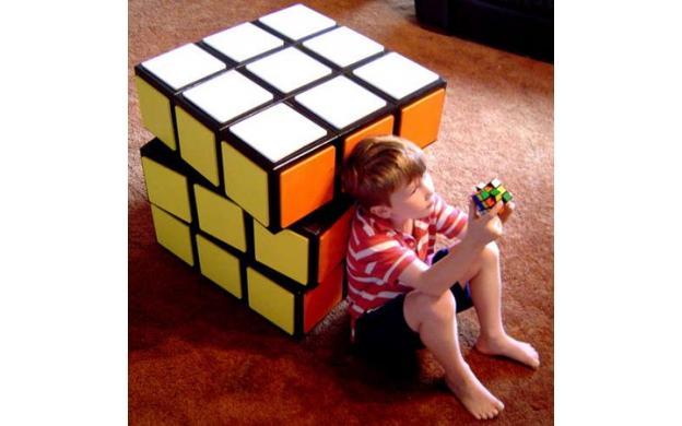 giant rubik 39 s cube 101qs. Black Bedroom Furniture Sets. Home Design Ideas