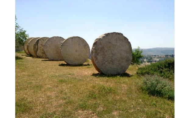Stone circles.