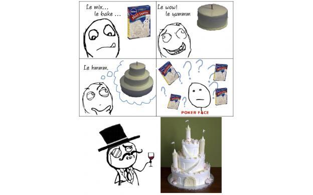 Three Tier Cake (Rage Comic)