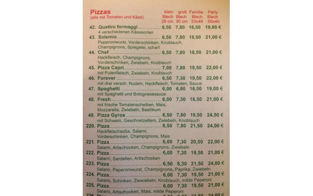Pizza bargain