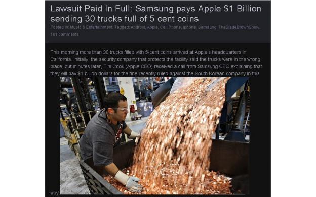 One billion in nickels