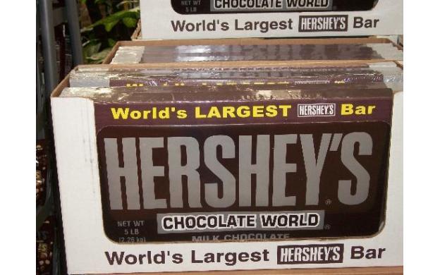 World's largest Hershey's bar!