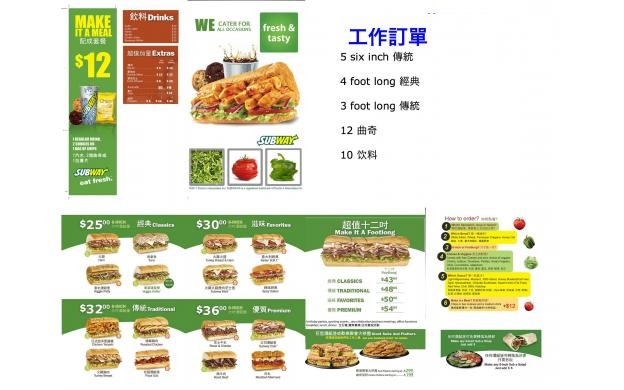 Foreign Subway Order