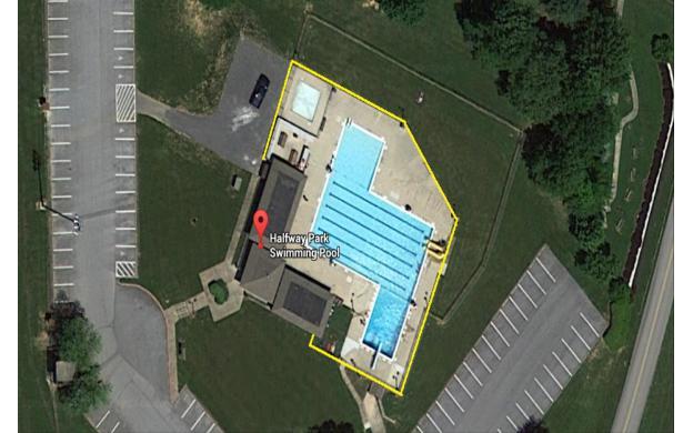 Halfway Pool Fence Problem