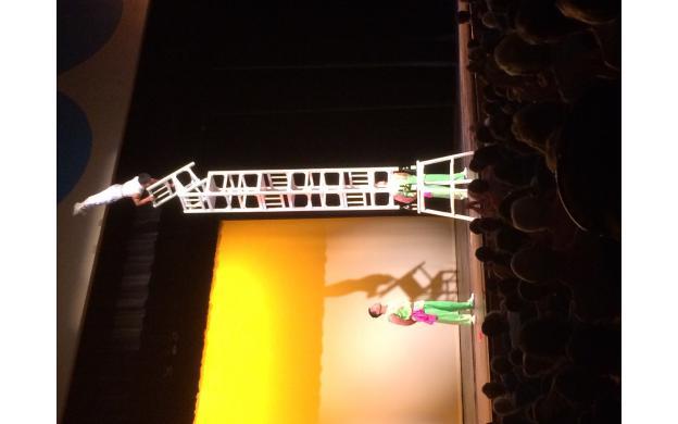 Beijing acrobat at county fair
