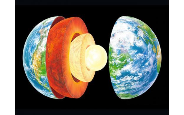 The Earth Onion