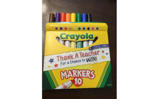 Box of Markers 3 Act Task