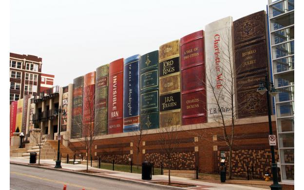 Kansas City Public Library Facade