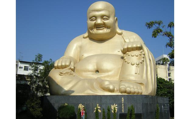 Golden Buddha, Taiwan