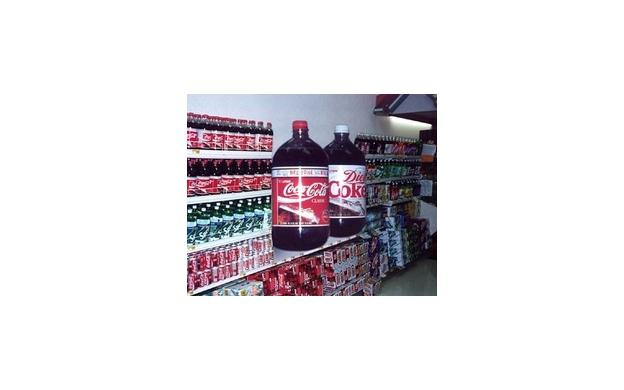 Really Big Coke Bottle