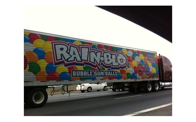 Bubble Gum Truck